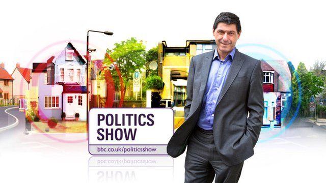 Jon Sopel and the BBC Politics Show
