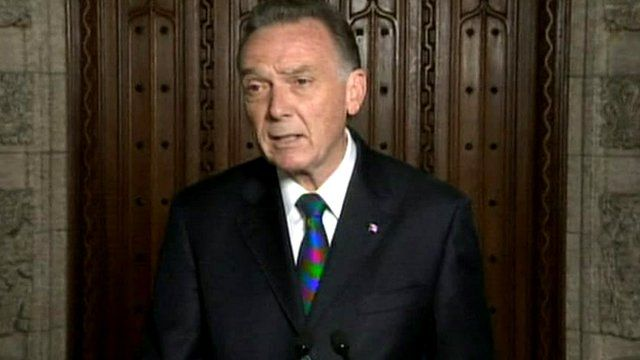 Environment Minister Peter Kent