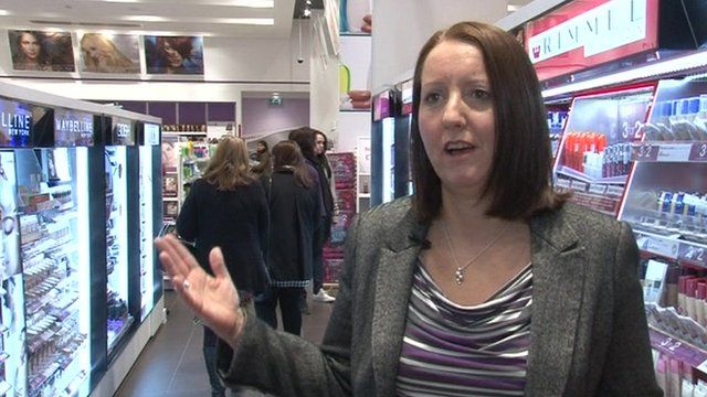 Jo Mackie from Superdrug