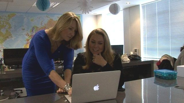 Holly Tucker and Sophie Cornish