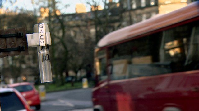 Gauge to monitor pollution in Edinburgh