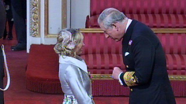 Brooke Kinsella and Prince Charles