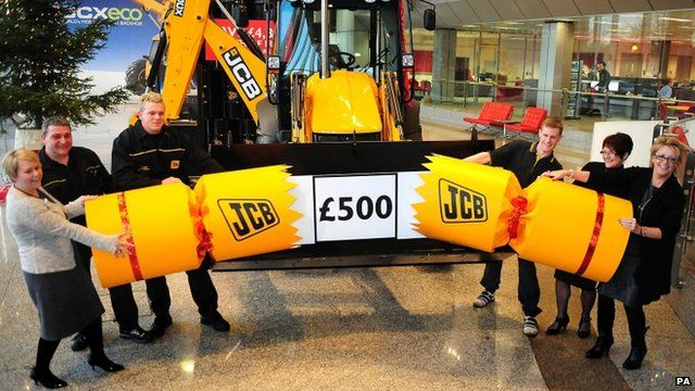 JCB employees
