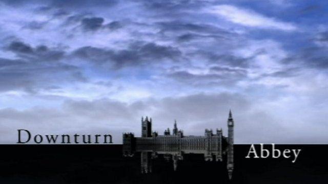 Downturn Abbey logo