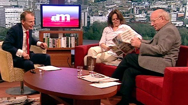 Fiona Shaw and Greg Dyke on The Andrew Marr Show