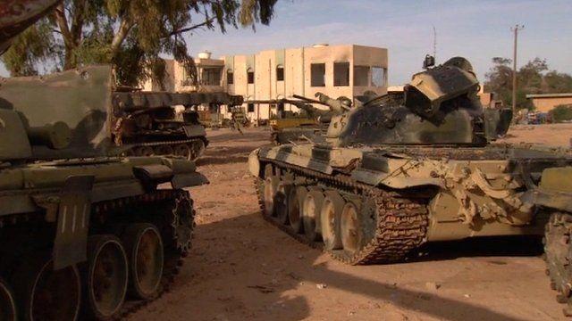 Libya was finally declared free following the fall of Sirte