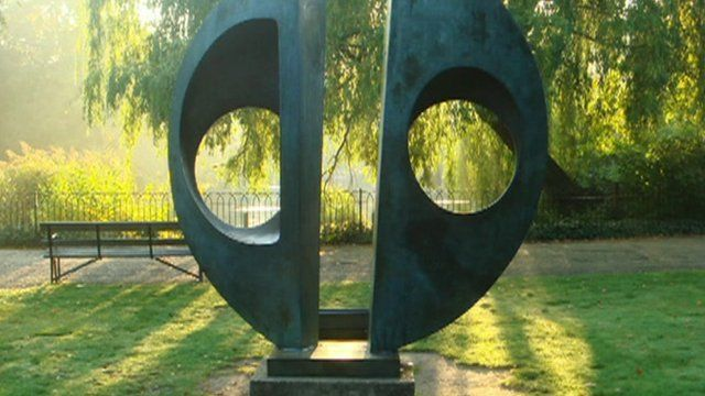 The stolen Barbara Hepworth sculpture