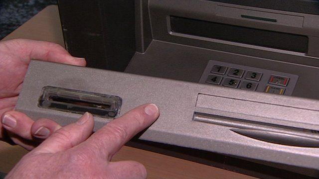 A cash machine