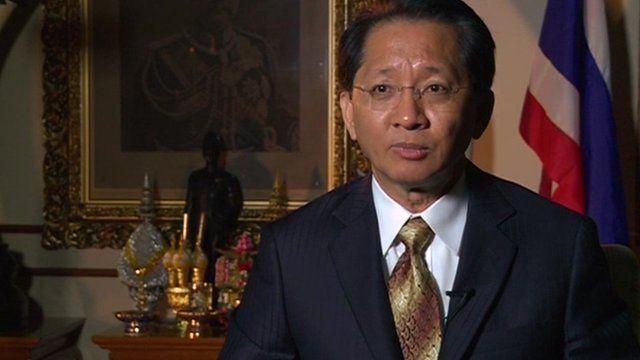 Thai Finance Minister, Thirachai Phuvanatnaranubala