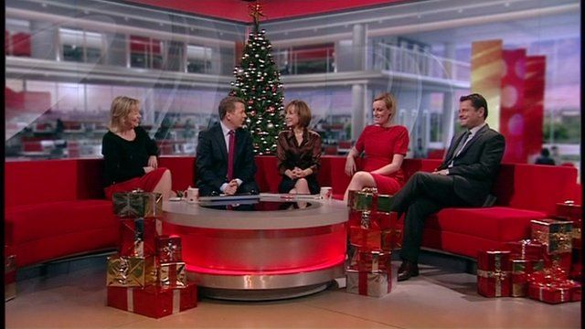 Christmas with the Breakfast Presenters