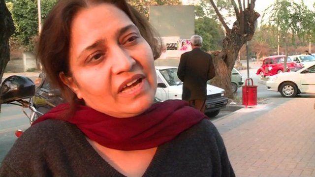 Pakistani woman in Islamabad