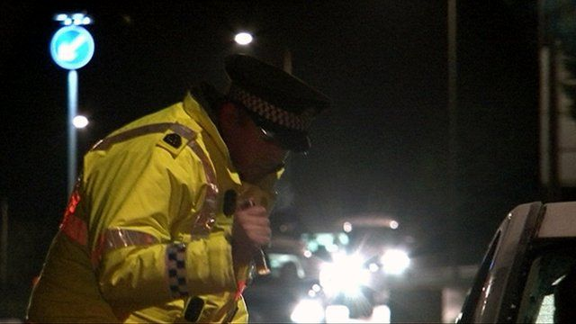 A special constable stops a driver