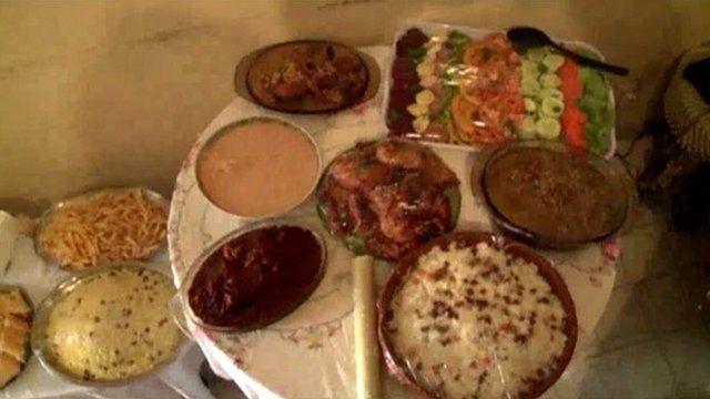 Christmas dinner in Senegal