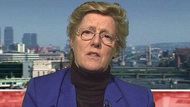 Chief medical officer for England Prof Dame Sally Davies
