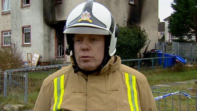 Assistant chief officer Robert Scott, from Strathclyde Fire and Rescue