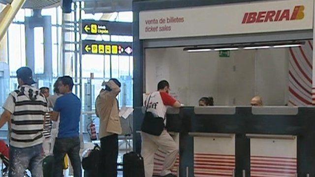 Iberia checkout