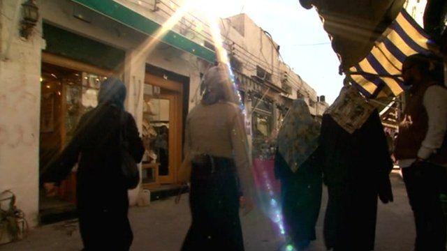 Benghazi street scene
