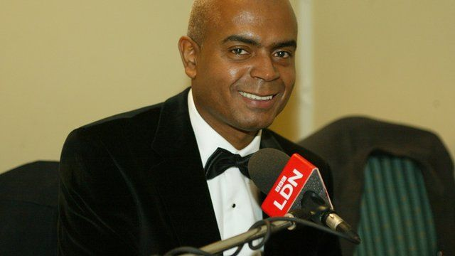 Orin Lewis, of the African Caribbean Leukaemia Trust, who has become an OBE in the New Year Honours