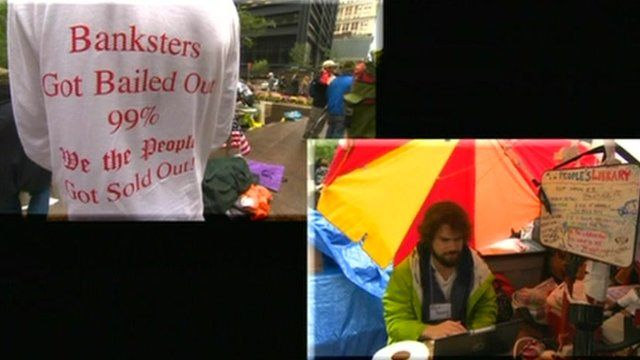 Occupy protesters