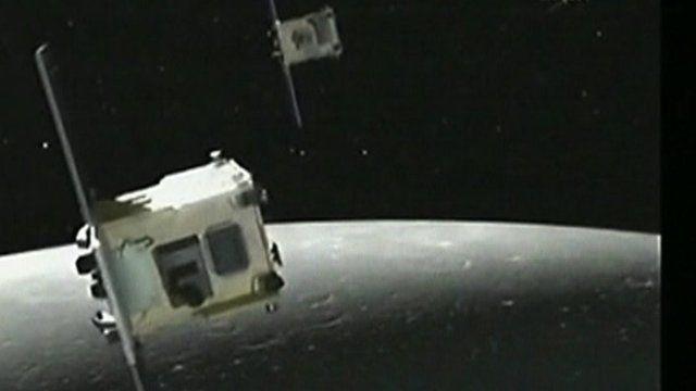 The Grail satellites