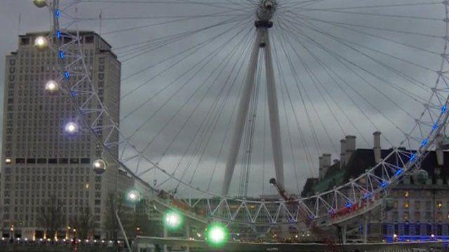London's Millenium wheel