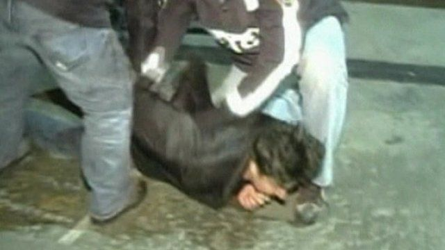 Occupy Wall Street scuffles