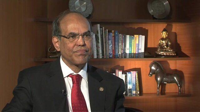 India's Reserve Bank governor, Dr Duvvuri Subbarao