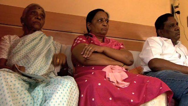 Anuj Bidve's family in Pune, India