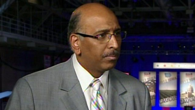 Former chairman of the Republican National Committee Michael Steele