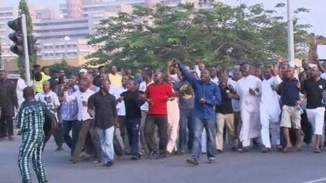 Abuja fuel protest