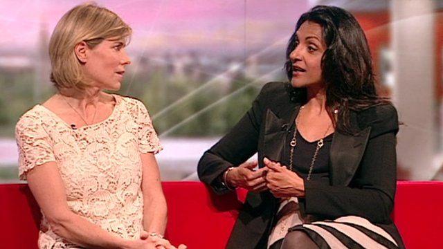 Nutritionist Amanda Ursell (left) and detox expert Geeta Sidhu-Robb