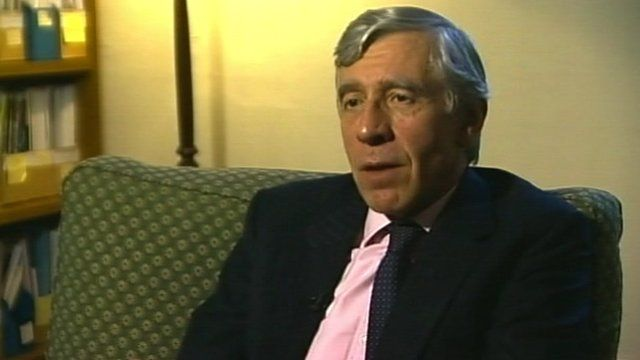 Jack Straw MP, Former Home Secretary