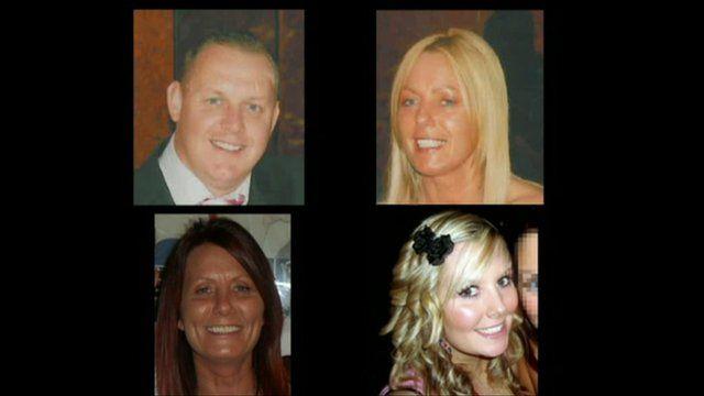 Clockwise from top left: Michael Atherton, Susan McGoldrick, Tanya Turnbull, Alison Turnbull,