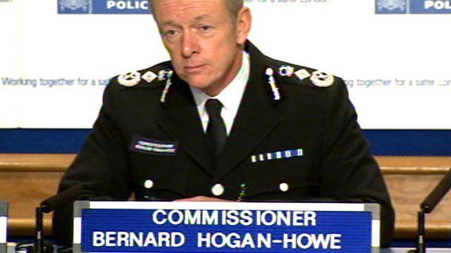 Met Police Commissioner Bernard Hogan-Howe