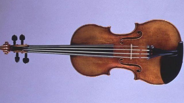 Violin by Italian maker Antonio Stradivari
