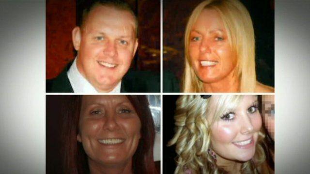 Michael Atherton, Susan McGoldrick, Alison Turnbull and Tanya Turnbull