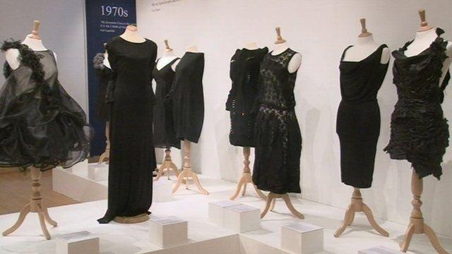 Little Black Dress exhibition at Tullie House