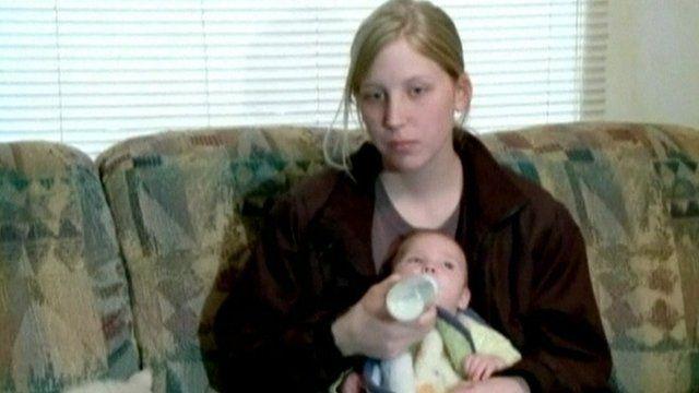 Eighteen year-old Sarah McKinley
