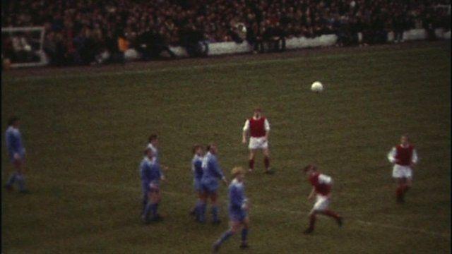 Fleetwood Town play Blackpool in 1980