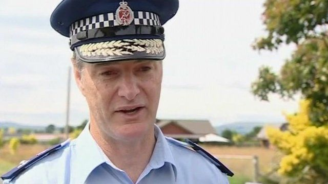 Superintendent Mike Rusbatch from Wellington Police