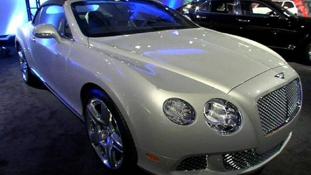 Luxury Cars Take Centre Stage At Detroit Auto Show Bbc News