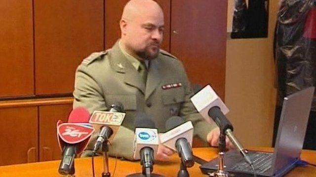 Military prosecutor Mikolaj Przbyl