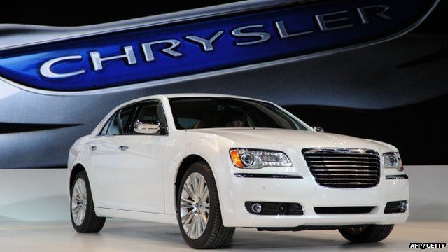 File photo of the Chrysler 300