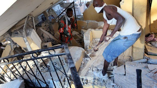 Watch Nel's report on life after Haiti's earthquake