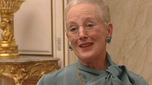 Queen Margrethe II of Denmark
