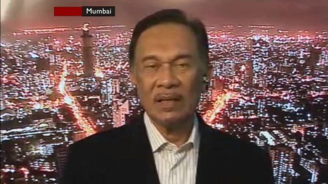 Veteran Malaysian opposition politician Anwar Ibrahim