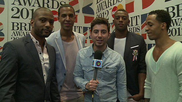 Ricky chats to JLS