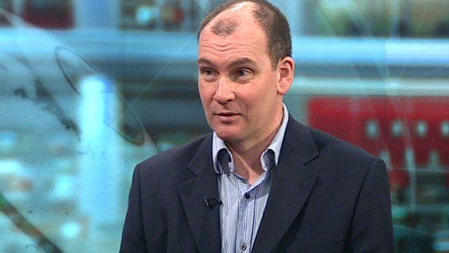 BBC sports news correspondent, Gordon Farquhar