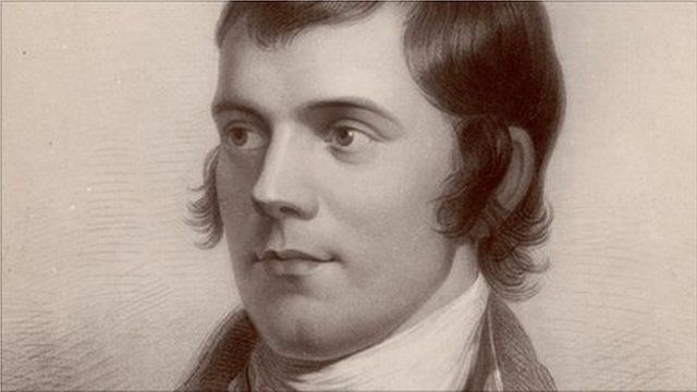 Robert Burns. Pic: Hulton Archive/Getty Images