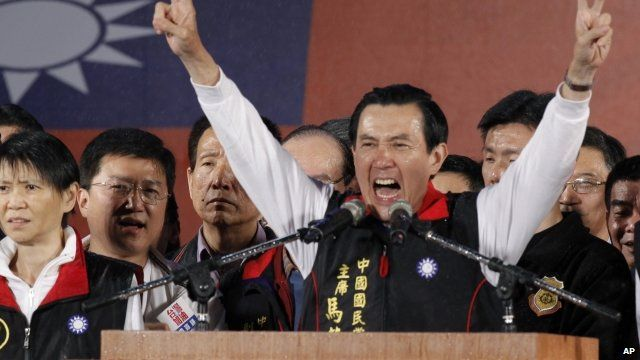 President Ma declares victory